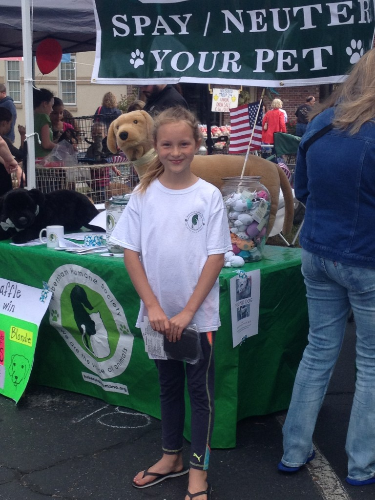 Morgan Gragg  Junior Ambassador Habersham Humane Society